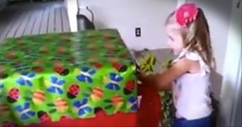 A Little Girl is Surprised With the BEST Gift of All on Her Birthday