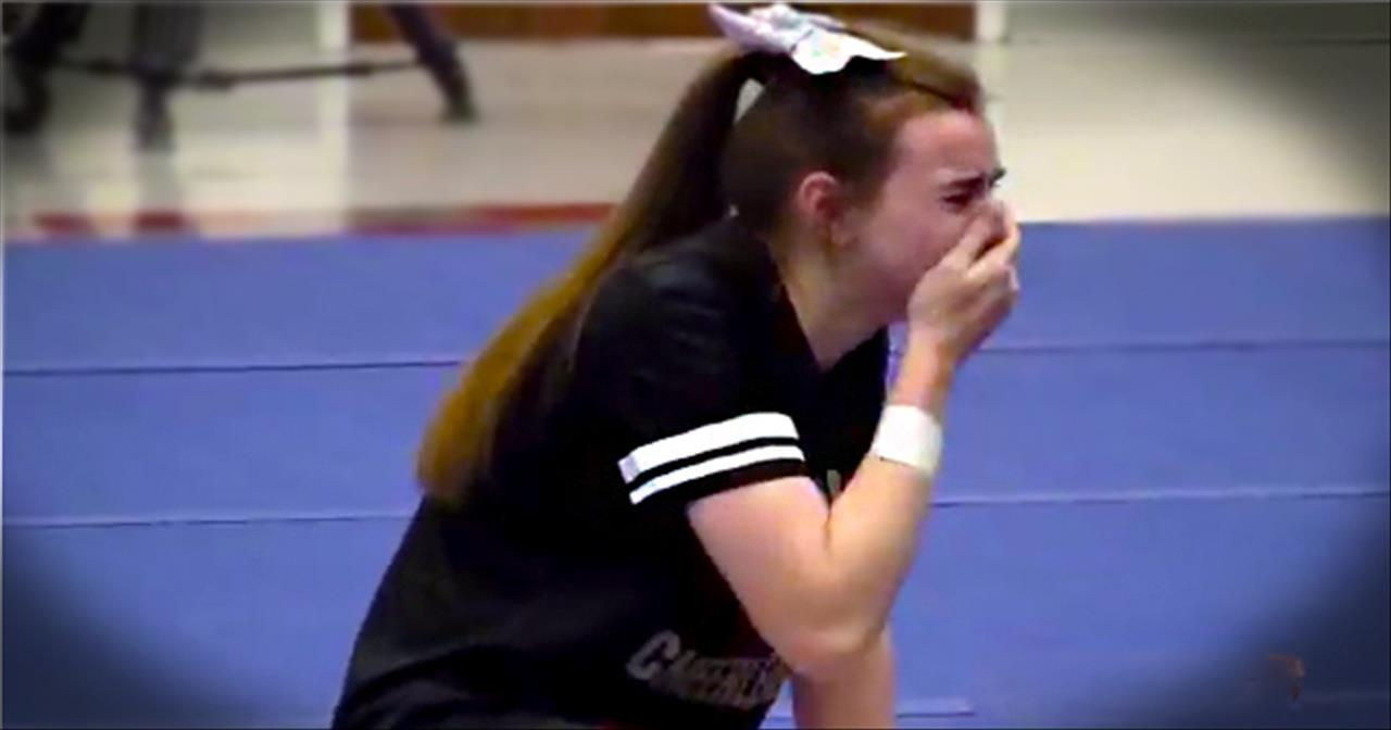 Wait Until You See What Caused This Girl to Literally Collapse From Joy