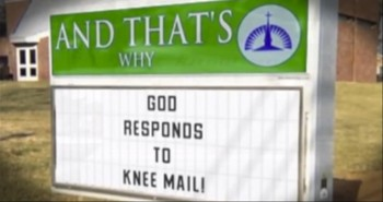 Funny Pop Culture Parody of Hilarious Church Signs