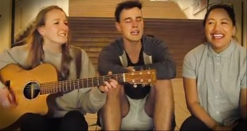 Three Amazing Teens Cover 'Holy Spirit' by Jesus Culture