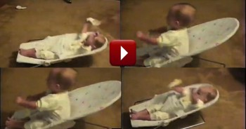 Adorable Baby Does the Funniest Thing While Watching TV