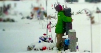 Young Boy Pays it Forward in Honor of His Late Soldier Dad -- This is a