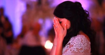 Father Of The Bride Surprises Daughter With Heartfelt Song