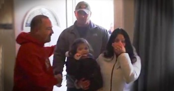 Community Showers a Wounded Vet with Amazing Surprises