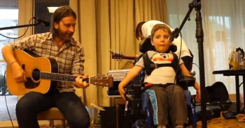 This Sweet Boy with Disabilities Sings and Our Hearts Just