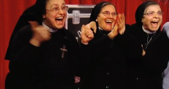 When You See Why These Nuns Are Cheering, Your Mind Will Be Blown
