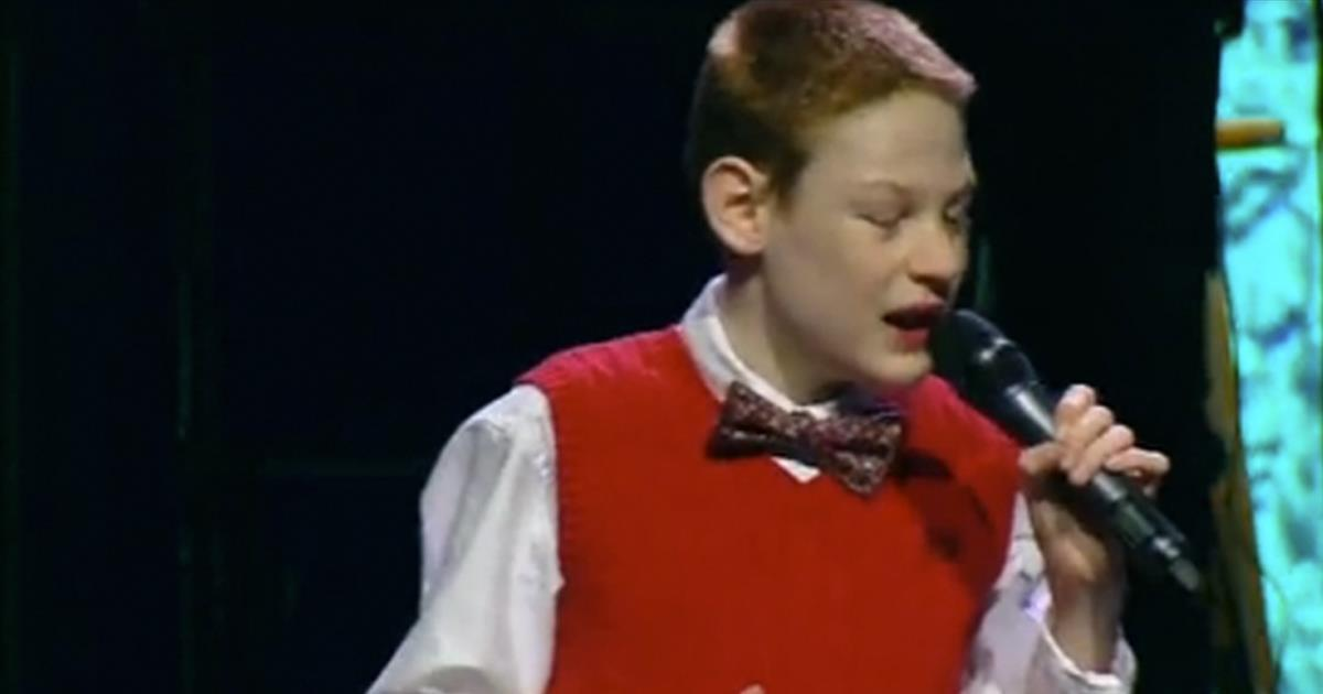 Christopher Duffley Wow Choir Singing I Can Only Imagine