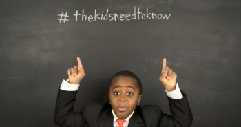 You'll Never Guess Who The Kid President Is Giving Advice To Now!