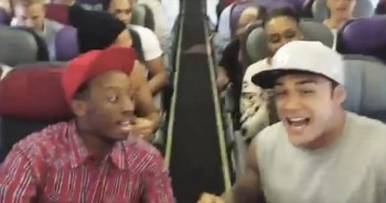 Passengers Get the BEST Surprise Before Take-off -- Wait Til You Hear Who The Performers Are!
