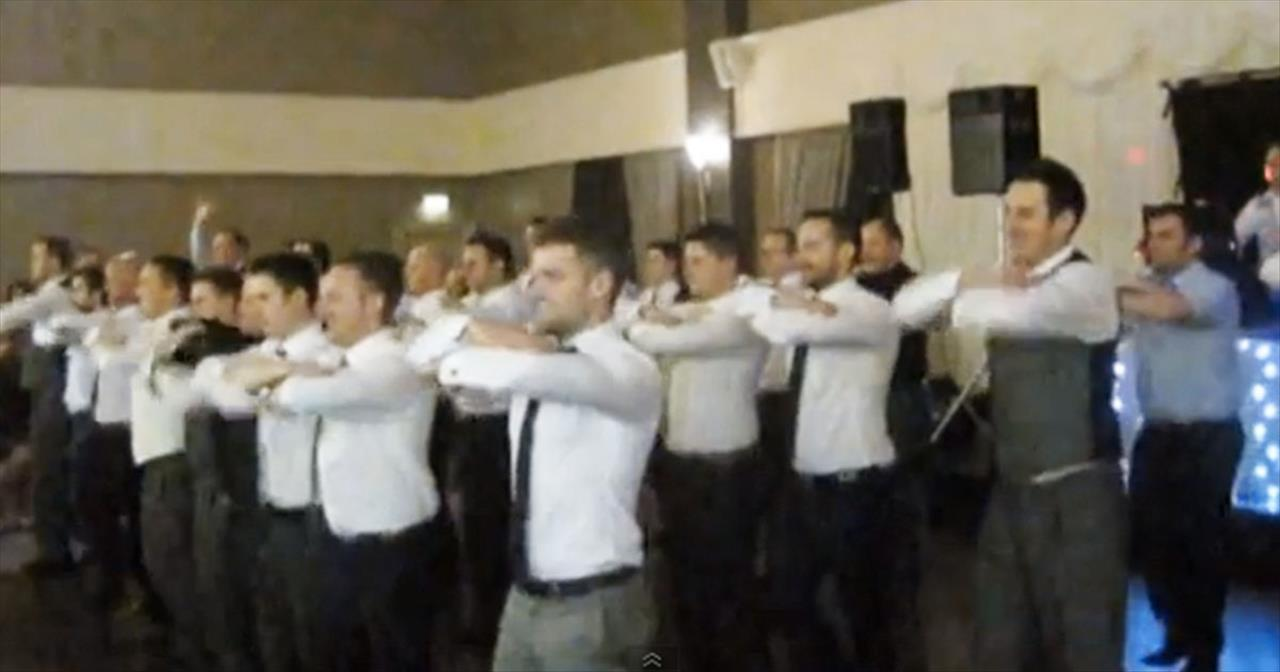 Now HERE'S a Wedding Dance We Haven't Seen Before. And I Already Want to See it Again! WOW!