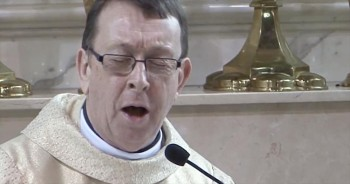 Priest Gives Bride and Groom a Whole New Reason to Say Hallelujah!