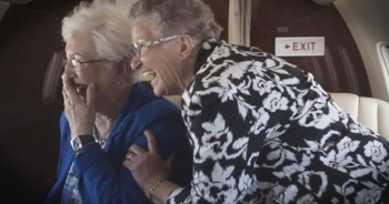Hilarious Tale of Two Grannies and Their First Flight