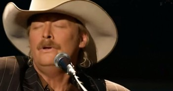 Powerful Alan Jackson Performance - 'The Old Rugged Cross'