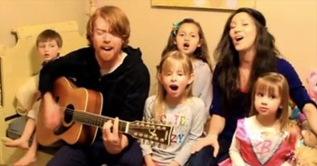 Cutest Cover of 'God's Not Dead' With Entire Family!