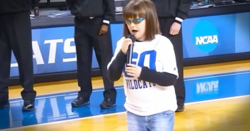 One LIttle Girl with a HUGE Voice is Guaranteed To Give You Go