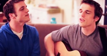 Brothers IMPRESS With 'God Of Wonders' Cover