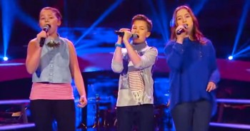 INCREDIBLE Kids Sing 'Hallelujah' Like
