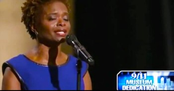 Tony Award-Winning Actress Sings 'Amazing Grace' At