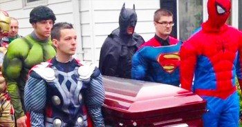 5-Year-Old Cancer Victim Gets A 'Super' Send Off – Seriously Moving