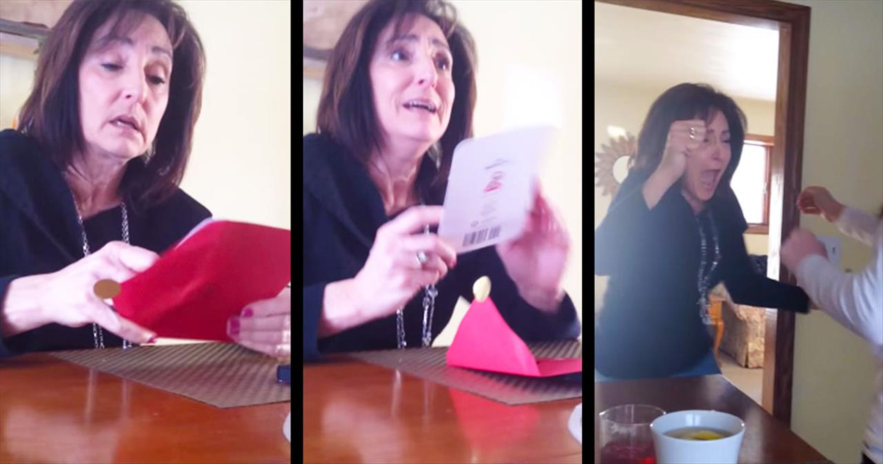 SURPRISE! This Grandma's Reaction Is The ABSOLUTE Best!