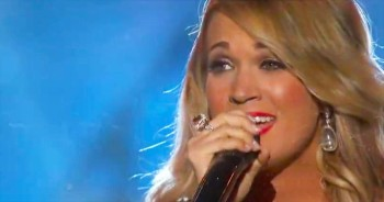 Carrie Underwood's INCREDIBLE Salute To Our Troops