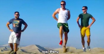 3 Irish Guys. 23 Countries. 1 EPIC Dance Video.