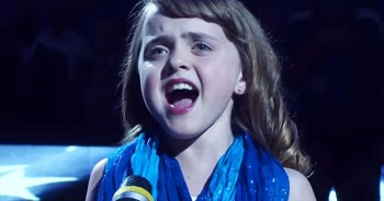 10-Year-Old Internet Star Sings National Anthem And Blows The Crowd Away!