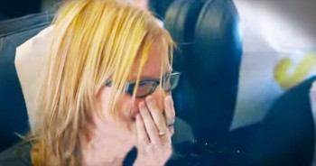 She Was 30,000 Feet In The Air When She Got The CRAZIEST Surprise Ever!