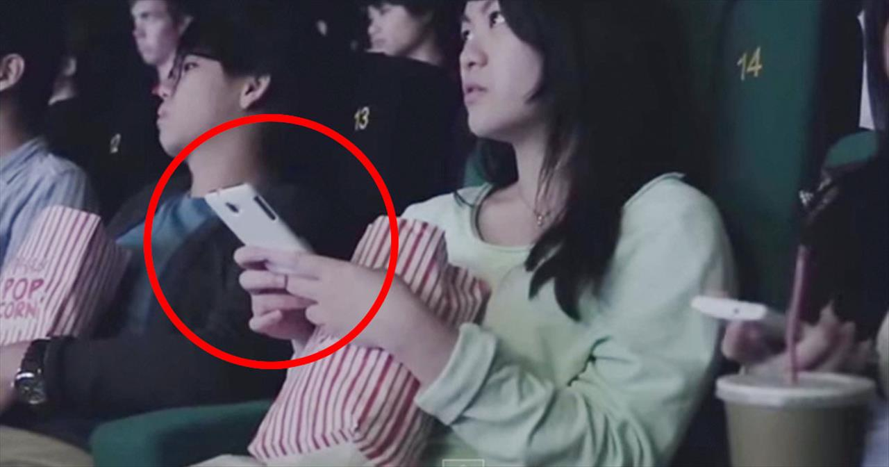 These Movie Goers Had No Idea They Would Play A Part In This Thought-Provoking Ad