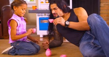 Even The Toughest Dads Have A Soft Spot For Their Little Girls! So Cute!