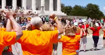This Flash Mob Transformed The Nation's Capitol For a Great