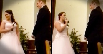 Bride Surprises Groom With Her Ow