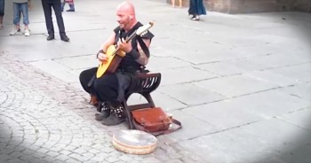 This Street Performer Has A Unique Voice – Or Should I Say VOICES?