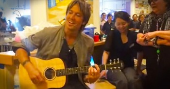 Keith Urban And Nicole Kidman Sing Uplifting Rendition Of 'Amazing Grace' At Children's Hospital