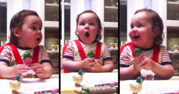 This Baby's Precious Reaction To Her Favorite Radio Station Will Make