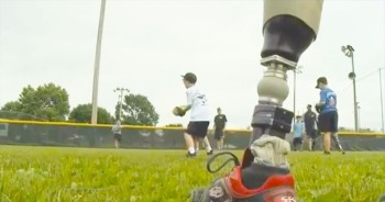 Wounded Warriors Host Softball Camp For Amputee Children – This One Is A Home Run