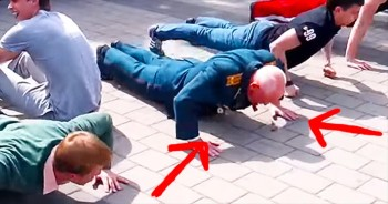This 77-Year-Old Veteran Just Outdid Guys Half His Age – He's Clearly Still Got It!
