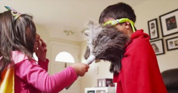 These Children Are Cleaning The House – And LOVING It. How Brilliant Are