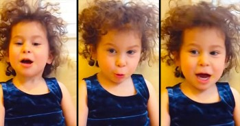 This 3-Year-Old's Wedding Toast May Be The BEST Yet. So Adorable!