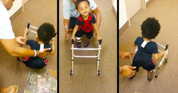 He's Just 2-Years-Old, But He's Doing Something So Incredible, You Can't Help But Smile!