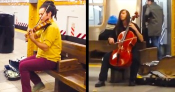 This Is One Subway Duet That You Just Can't Miss – It's EPIC!