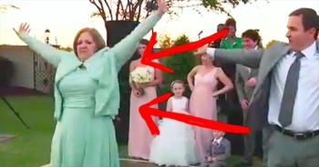 This Mother Of The Groom Has Got The MOVES! I'm So Impressed!