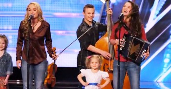 This Band Of 12 Siblings Seriously Impresses With A ROUSING Country Version Of A Classic
