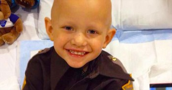 At 3-Years-Old, He's The Youngest Police Deputy In America. You'll Be Sobbing When You Hear WHY