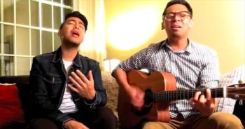 Uplifting performance by Chris and Amiel