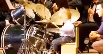 This Little Drummer Boy STUNNED The Crowd With His Impressive Skills – Watch Him Go!
