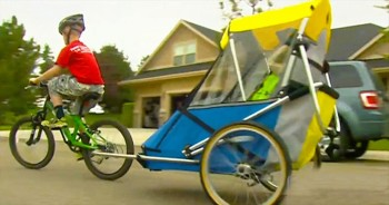 It Was Inspiration In Motion As This 8-Year-Old And His Disabled Brother C