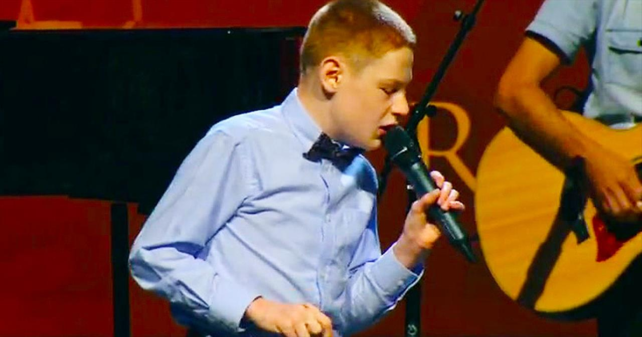 Christopher Duffley And Sister WOW With This Extra-Special Jamie Grace Duet – My Heart's Singing!