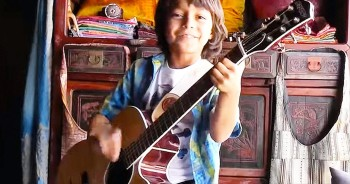 This 8-Year-Old's Song Is Breathtaking - But WHY He Wrot