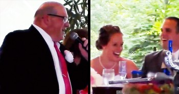 This Is One Creative Wedding Toast That Will Have You Saying 'Hallelujah!'